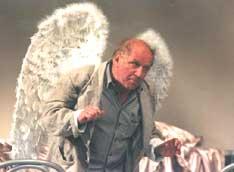 Вышел ангел из тумана