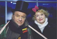 Лев Дуров и Валентина Талызина